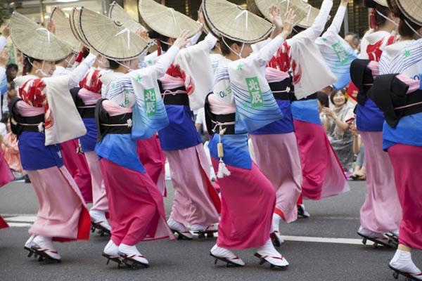 徳島県の阿波踊り