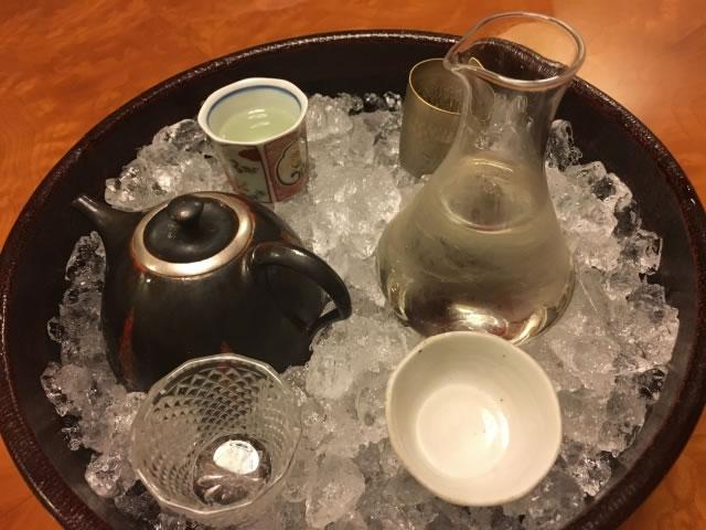 冷酒の冷やし方