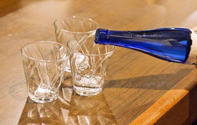 日本酒:水の割合は8:2がおすすめ