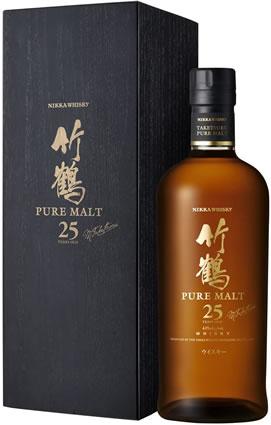 竹鶴25年ピュアモルト