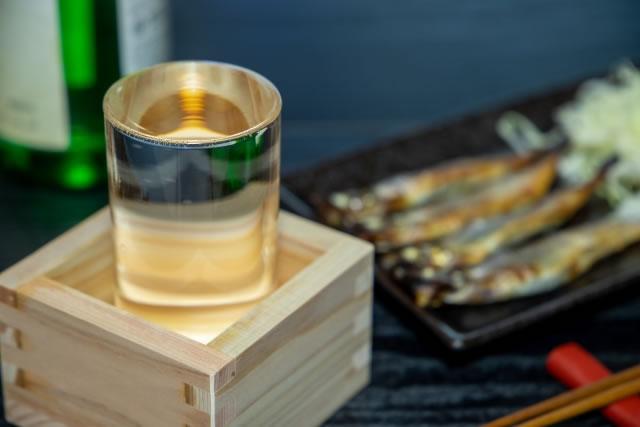 日本酒もっきり
