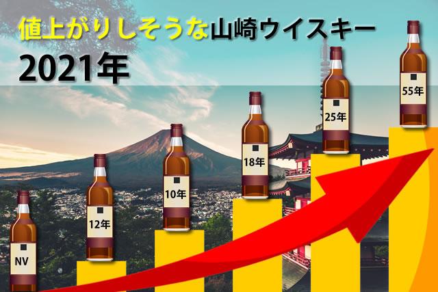 値上がりしそうな山崎ウイスキー