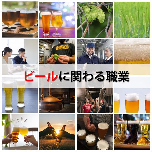 ビールに関わる職業
