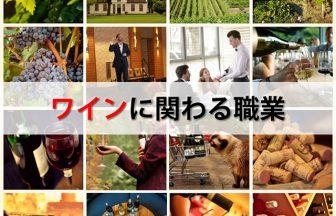 ワインに関わる職業